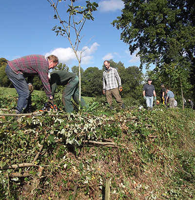 BHHA Hedgelaying Course